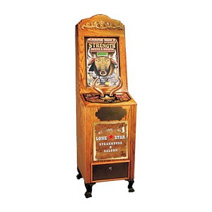 Arcade Antique Style Coin-Op Themed Novelty Impulse & Skill Game