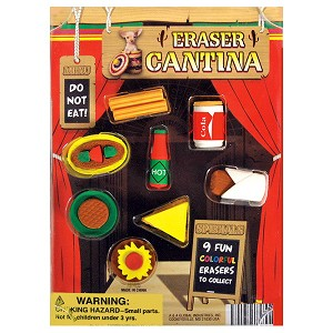 Cantina Puzzle Erasers