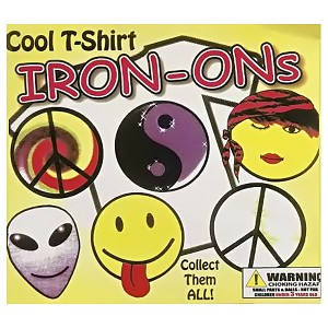 Cool T-Shirt Iron-Ons