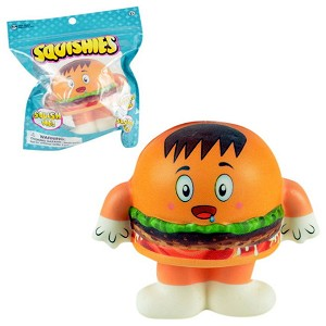 Squishy 4.5-inch Crazy Burgers